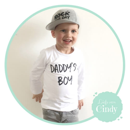 Daddy's boy shirt vaderdag