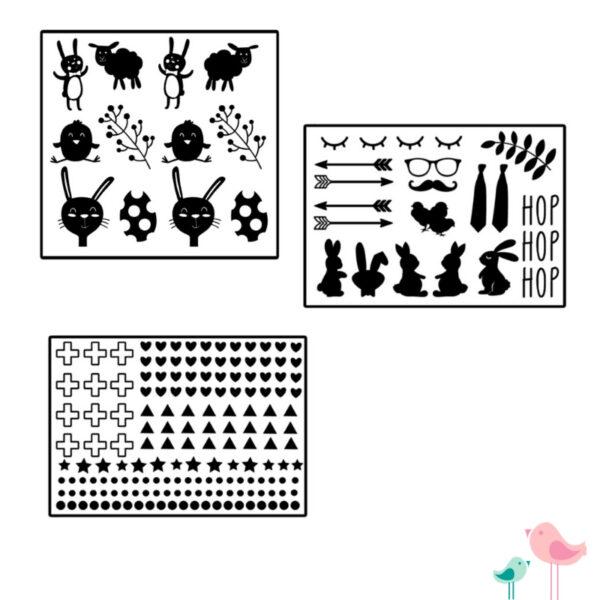 Paasei stickers pimpen liefs van cindy