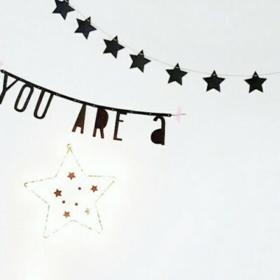 sterren slinger babykamer