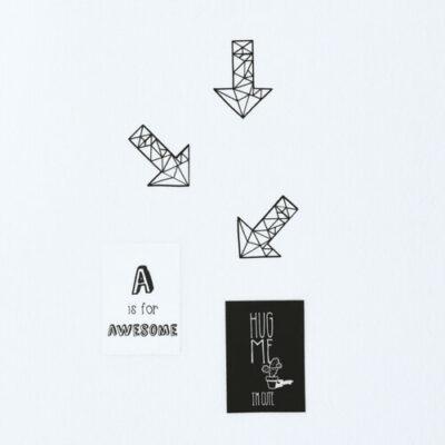 muurstickers geometrische pijlen Liefs van Cindy