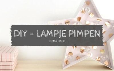 DIY lampje pimpen
