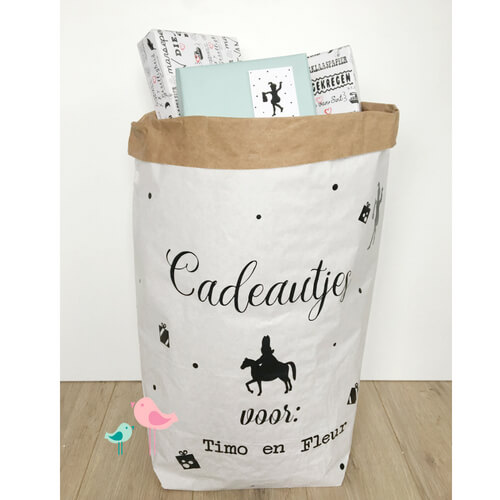 Sinterklaaszak Paperbag DIY