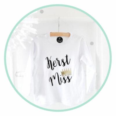 kerst miss shirt