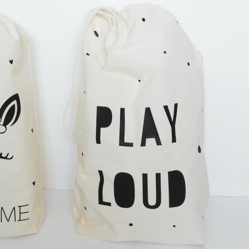 Hippe speelgoedzak Play loud