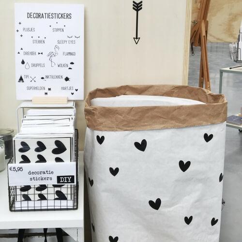Zelf een paperbag versieren DIY liefs van cindy