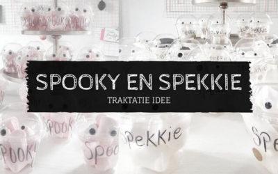 Traktatie spooky en spekkie