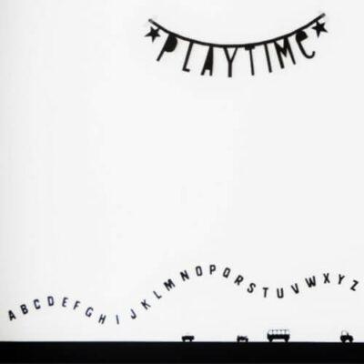 muurstickers cijfers en letters kinderkamer