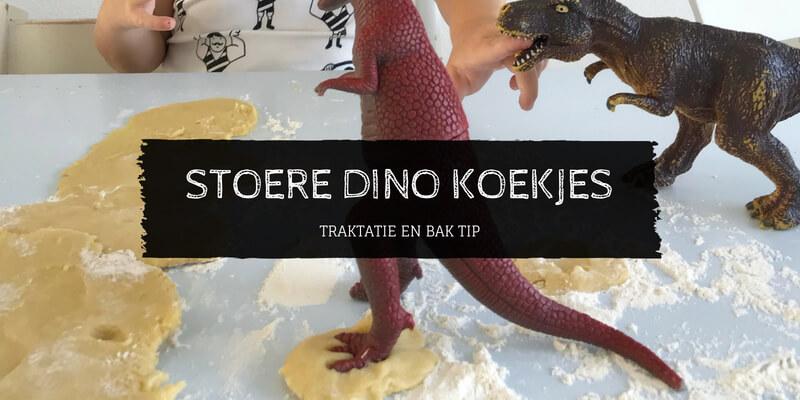 Stoere dinotraktatie met dinokoekjes