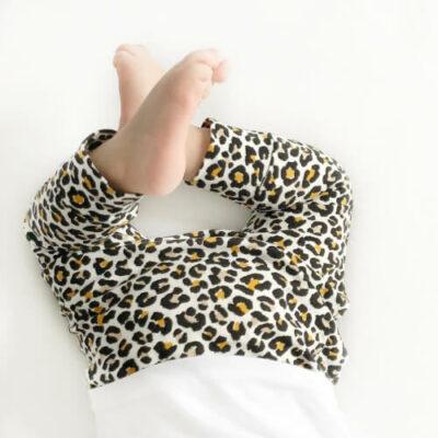 Broekje tijgerprint baby