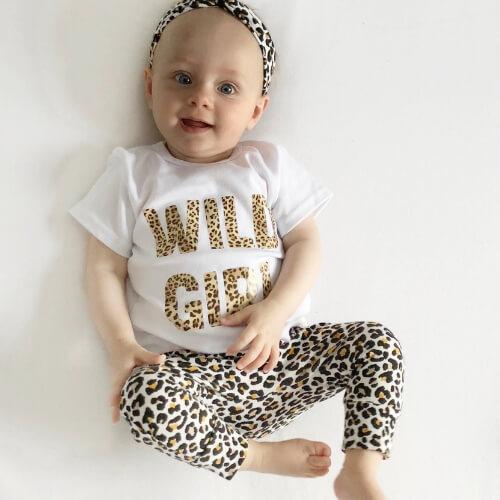 Tijgerpint setje baby en kinderkleding