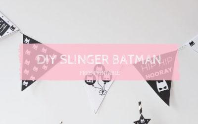 DIY Slinger batman feestje