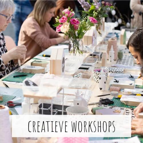 Creatieve workshops DIY