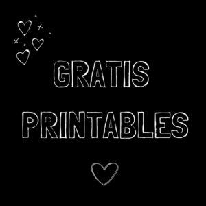 Gratis Printables