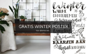 Winterposter gratis downloaden
