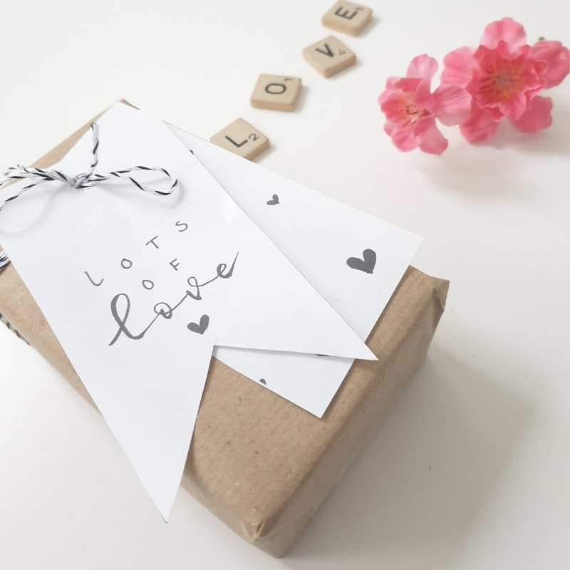 Cadeautje Valentijn free printables